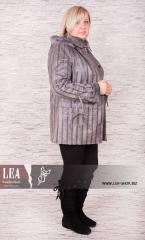 Куртка женская из дубляжа больших размеров №4 СР