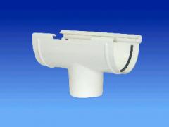 Воронка водосточная 75/50  белый ( Системы