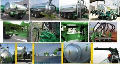 Cars for introduction of liquid mineral and