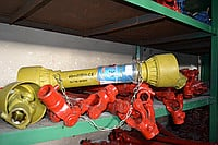 Driveshafts for agricultural machinery