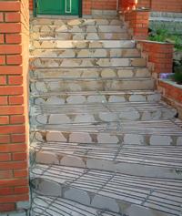 System Teplodor - heating of steps