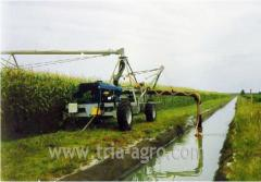 Irrigating RAIN LINER DF 4002 system. Group of a