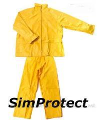 Suit waterproof PVC
