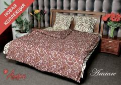 Coarse calico sateen for bed linen