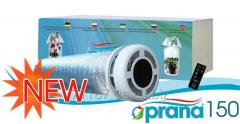 Forced-air and exhaust ventilating Prana system