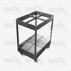Тележка для перевозки коптильных палок (вместимость 240 вешал)