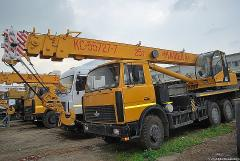 Аренда автокрана Киев. Заказать автокран 25 тонн