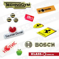 Production of stickers, press of stickers.