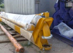 Arrow for Mriya concrete