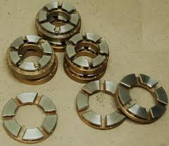 Thrust bearings for measuring devices