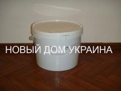 Mastic mastic, acrylic for foamglass, for