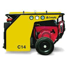 Compressors mobile diesel C 14 — C 30