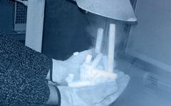 Pelletayzera for production of granules of an