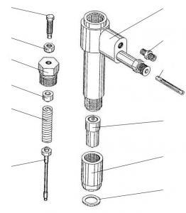 Nozzle for the DIESEL D50 Nozzle D50.17.1sb