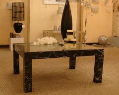 Little table from Toros Black marble