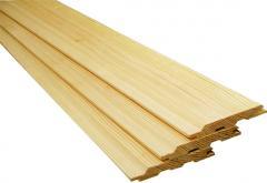 Timber Lining (alder, pine, linden)