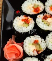 Набор для суши, нории, уксус, васаби, имбирь,