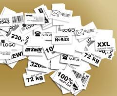 Labels self-adhesive Swif