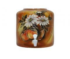Dispenser ceramic Apple brown