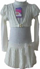 Платье из вязанного полотна. Модель 115