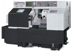 GOODWAY GCL-2B lathe with ChPU FANUC 0-iTD from a warehouse in Kiev at a discount!