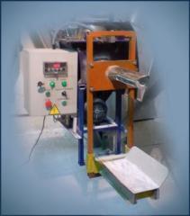 Дозатор Фасовка ДШК-50 в клапанные мешки для пылящих сыпучих продуктов