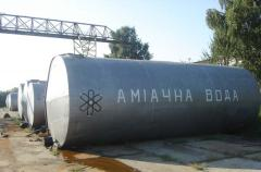 Вода аммиачная с содержанием азота 25%