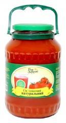 Fresh tomato juice 1.5 and 1, 85l. TM