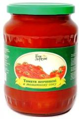 "Tomatoes in tomato juice 0,72 l ""Bon"