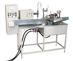 Automatic machine for filling and zapayka of