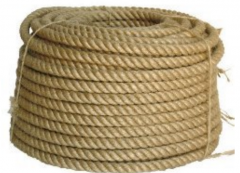 Rope jute for a decor from the producer