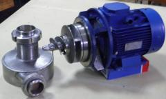 Pumps shnekovo-centrifugal for mayonnaise and