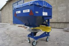 Equipment for introduction of RMD-500 fertilizers