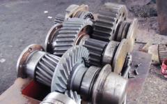 Запчасти редуктора БП75КЦ.01.00.000. Детали и узлы для горно-шахтного оборудования.