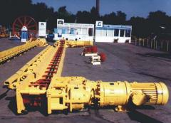 Конвейер шахтный скребковый СПЦ163