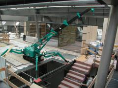Pass the MAEDA MC 104 CER crane
