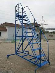 Mobile ladder, production, sale