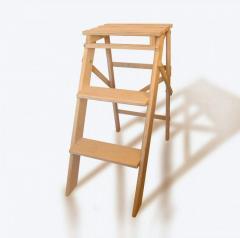 Ladder - a flower stand