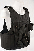 Bullet-proof vest of external carrying Armour