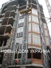 Kopen van onbrandbare isolatie schuimglas, nieuwe huis, Oekraïne