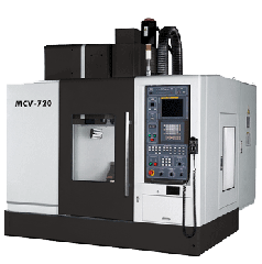 The vertical processing DAHLIH center the MCV-720 model with ChPU FANUC 21i-MB