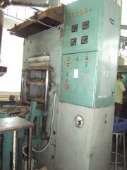 The press vulkanizatsionny for rubber