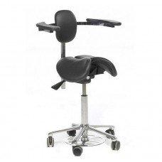 Chair Salli CHIN saddle with an adjustable back