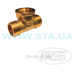 Tees the forged mm NVN 15 - STA fitting brass
