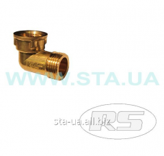 Squares of VN (knee) of 15 mm - a brass fitting of