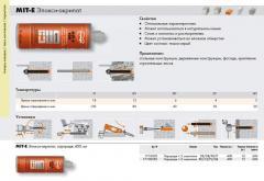 Anchor chemical glue: MIT-E of Epoksi - acrylate