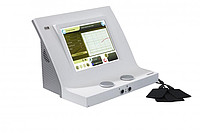 The device for a 2-channel electrotherapy.