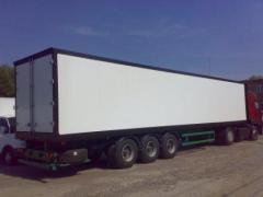 Изотермический фургон на п/прицеп