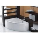Bathtub asymmetric CORDOBA 135,5x95 lef