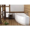 Bathtub acrylic HELOS COMFORT 150x100 lef